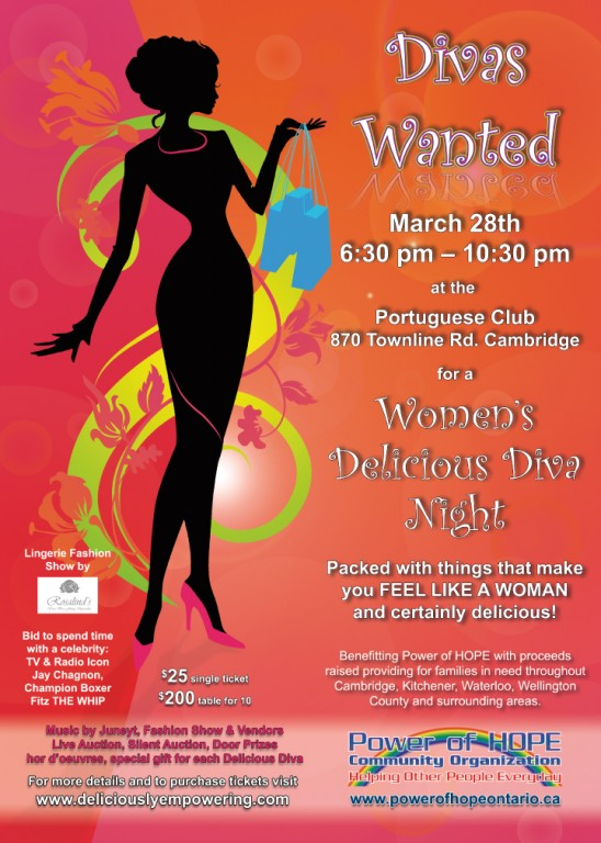 Diva's Wanted for a Women's Diva Delicious Night