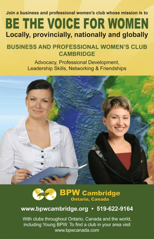 BPW - Business and Professional Women of Cambridge