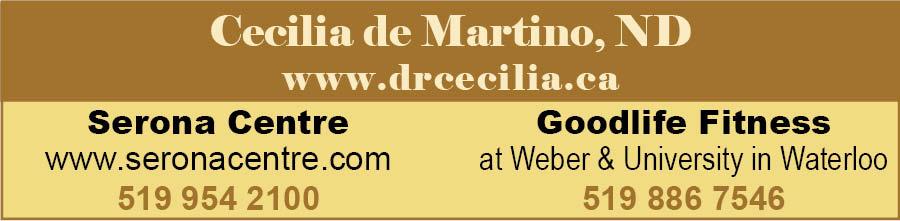 Dr Cecilia de Martino ad