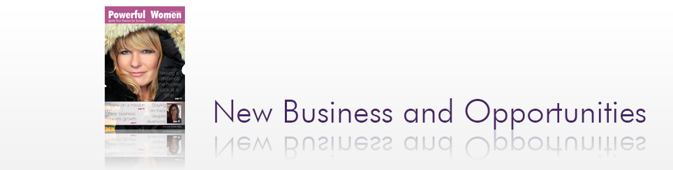 Spring 2013 – New Business and Opportunities